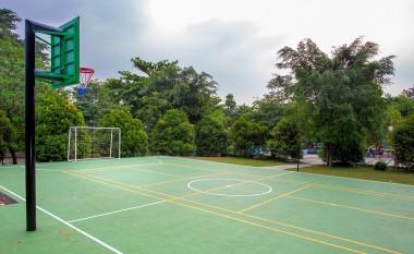 Lapangan Basket Dan Futsal